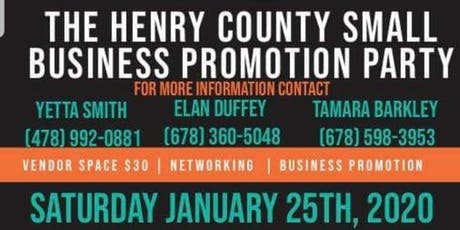 Henry County Small Business Promotion Party tickets