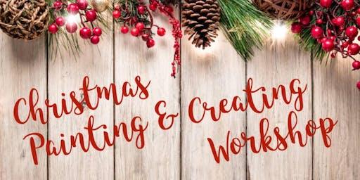 Christmas Painting & Creating Workshop (Ladysmith) - Nov 16 2019