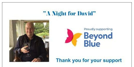 A Night for David tickets
