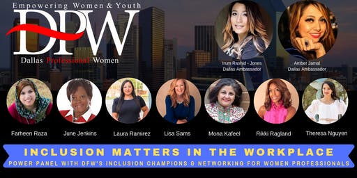 HPWO - Dallas Chapter Inclusion Matters Panel & Networking Event