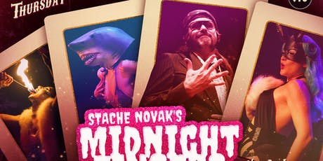 Stache Novak's Spooky Midnight Fingers tickets