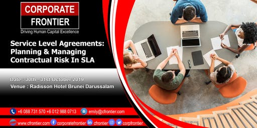 Service Level Agreements:  Planning & Managing Contractual Risk In SLA