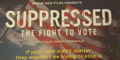 Suppressed! The Fight to Vote tickets