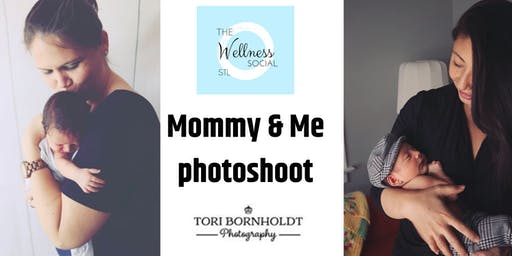 Mommy & Me photo session. the Wellness Social stl & Tori Bornholdt.