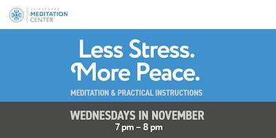 Less Stress. More Peace.