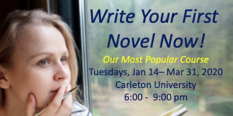 Write Your First Novel Now! tickets