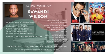 Sawandi's Creative Space Acting Workshop tickets