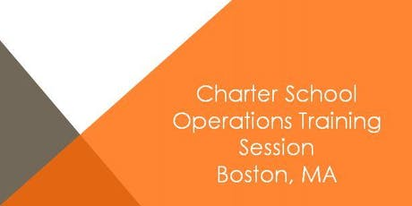 Boston Charter School Operations Training Session tickets