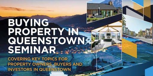 Buying property in Queenstown Seminar