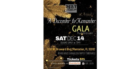 A December to Remember Gala tickets
