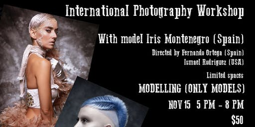 INTERNATIONAL PHOTOGRAPHY WORKSHOP (MODELLING)