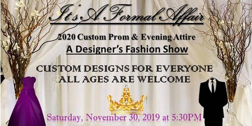 Fashion Show - Prom/Formal Event
