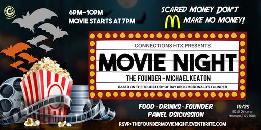 Business • Social Halloween Movie Night - The Founder