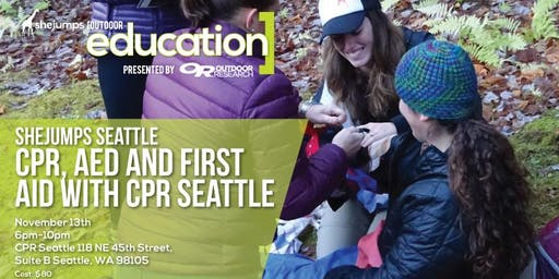 WA SheJumps Seattle CPR, AED, and First Aid with CPR Seattle