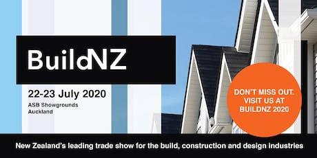 BuildNZ tickets