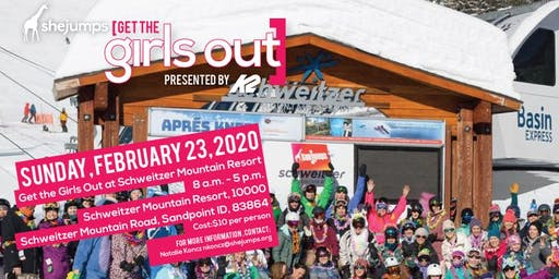 ID Get the Girls Out at Schweitzer Mountain Resort