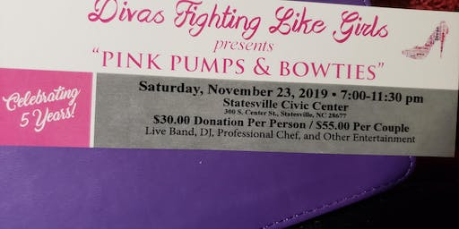 "Divas Fighting Like Girls Presents ""PINK PUMPS & BOWTIES"""