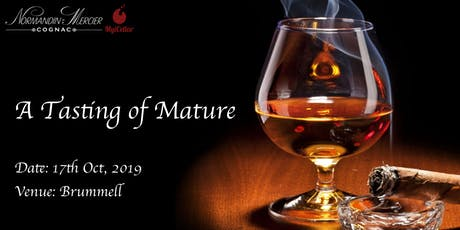 A Tasting of Mature - Cognac Tasting tickets