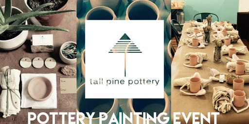 Pottery Painting Event