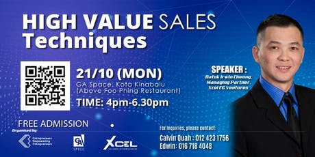 Mind Your Own Business: High Value Sales Techniques (OCT KK) tickets