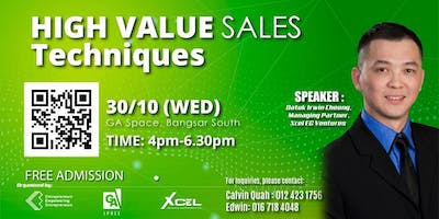 Mind Your Own Business : High Value Sales Techniques (OCT KL)