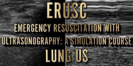 ERUSC - Lung US tickets