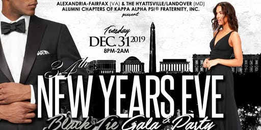 34th Annual New Year's Eve Gala & Party