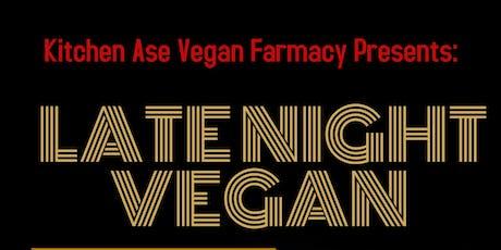 Late Night Vegan tickets
