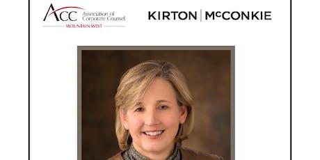 ACC Lunch & Learn by Kirton McConkie,  Economic Update w/Natalie Gochnour tickets