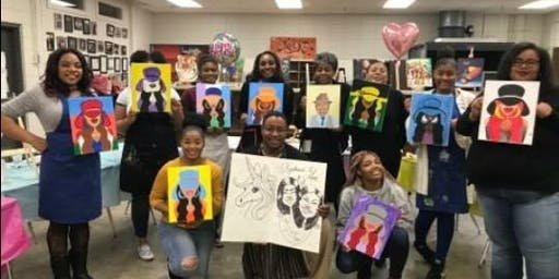 Breast Cancer & Lupus Awareness Sip & Paint with Painting U Designs