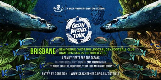 Sea Shepherd's Ocean Defence Tour - BRISBANE  Family Fiesta 2019