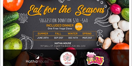Eat for the Seasons tickets