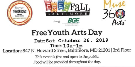 Necessary Tomorrows and Muse 360 Arts | Youth Arts Day Free Fall Event tickets