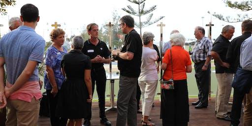 Visit Geraldton networking sundowner