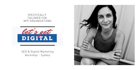 Let's Get Digital - SEO Workshop for Nonprofit Organisations tickets