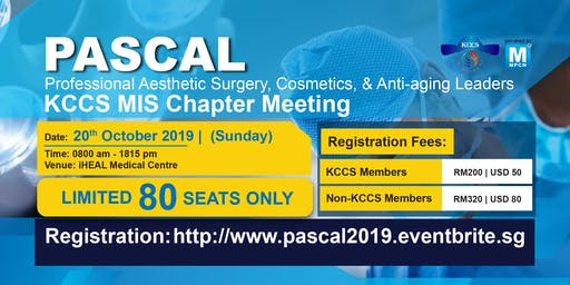 [THIS IS NOT A FREE EVENT] PASCAL (Professional Aesthetic Surgery, Cosmetics, & Anti-aging Leaders)