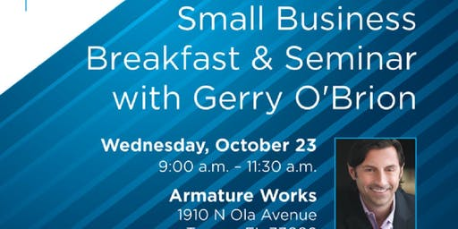 Small Business Breakfast Seminar With Gerry O'Brio