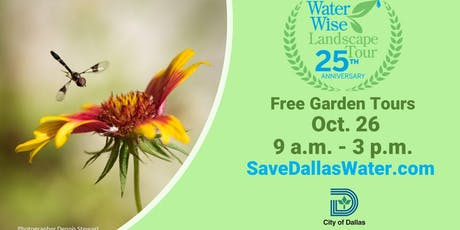 25th Anniversary Waterwise Landscape Tour tickets