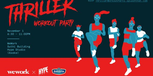 WeWork—Thriller Workout Party