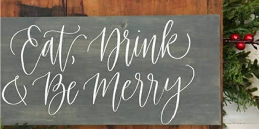 Christmas Signwriting