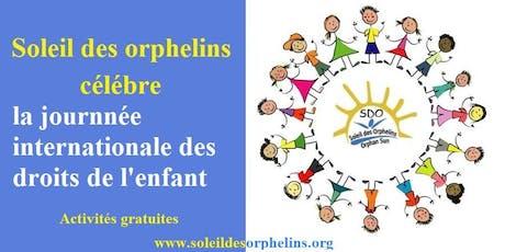 journée Mondiale de l'enfance tickets