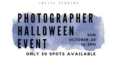 Photographer Halloween Event