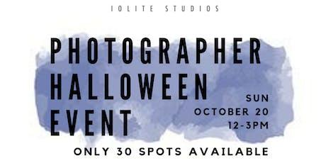 Photographer Halloween Event tickets
