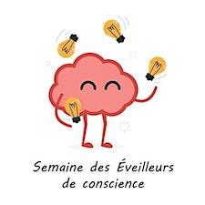Semaine des Éveilleurs de conscience - Cégep régional de Lanaudière à L'Assomption logo
