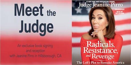 Meet Judge Jeanine Pirro tickets