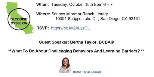 What to do About Challenging Behaviors and Learning Barriers?