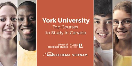 Study in Canada - York University, School of Continuing Studies
