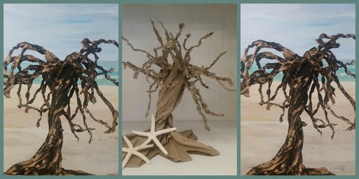 Twisted Paper Bag Trees with Lynda