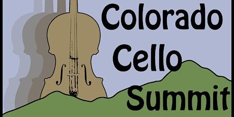 Colorado Cello Summit tickets