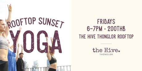 Rooftop Sunset Yoga tickets
